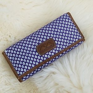 Handbags - Handmade Leather Embroidered Wallet from Guatemala